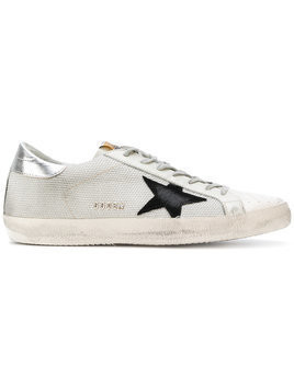 Golden Goose Deluxe Brand - May sneakers - Herren - Leather/Polyester/Cotton/rubber - 43 - Grey
