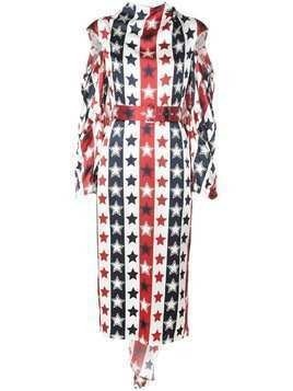 Hellessy stars and stripes dress - White