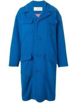 Julien David oversized coat - Blue