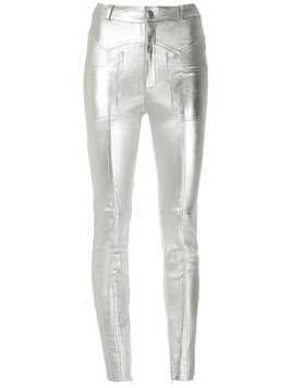 Nk Mestico metallic trousers