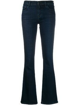 J Brand stonewashed flared jeans - Blue