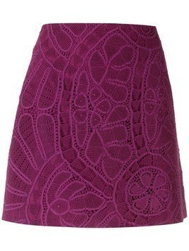 Martha Medeiros Paloma mini skirt - Purple