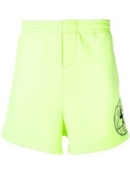 Ex Infinitas Flex track shorts - Yellow