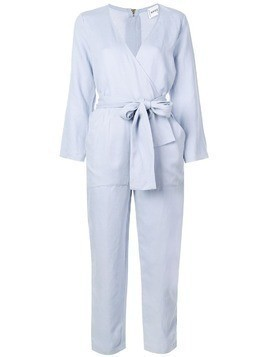Apiece Apart tailored jumpsuit with knot detail - Blue