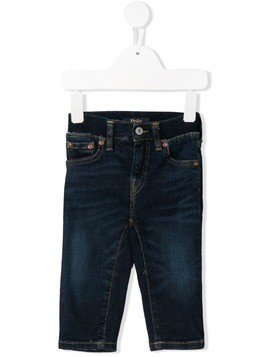 Ralph Lauren Kids elasticated waistband jeans - Blue
