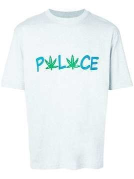 Palace logo print T-shirt - Grey