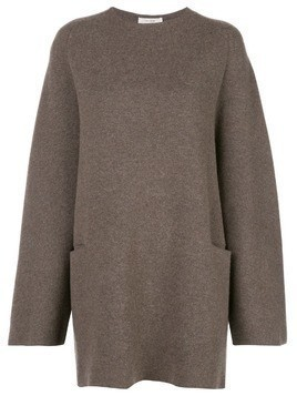 The Row oversized knit jumper - Brown