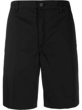 Givenchy label patch chino shorts - Black