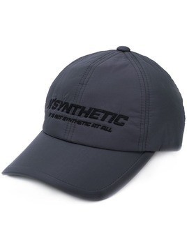 Juun.J 'Synthetic' embroidered cap - Grey