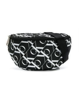 Calvin Klein Kids monogram print belt bag - Black