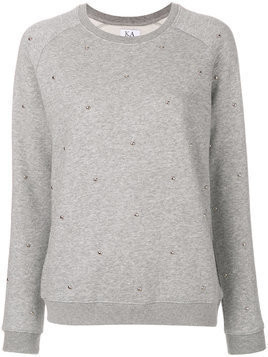 Zoe Karssen crew neck jumper - Grey