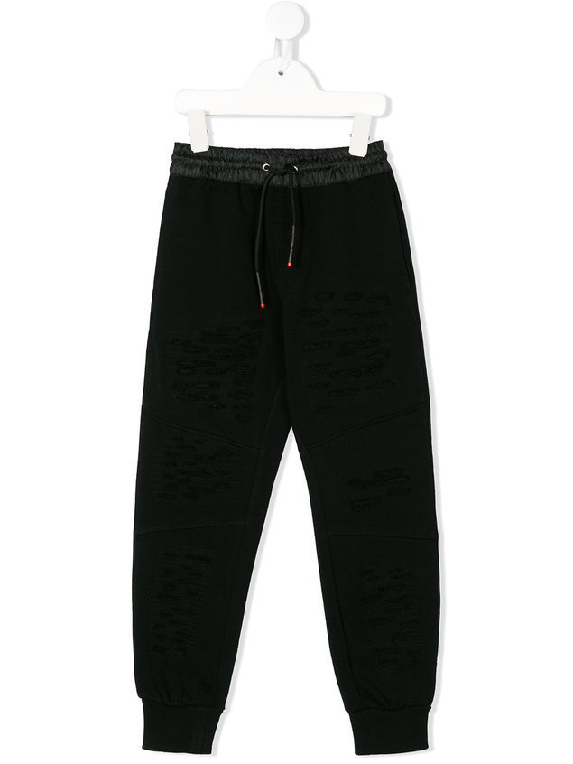 Diesel Kids Pwestin track pants - Black