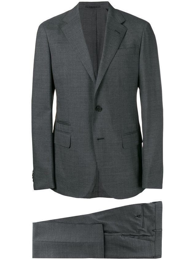 Z Zegna formal two-piece suit - Grey