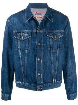 Acne Studios 1998 Crease denim jacket - Blue