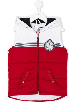 Lapin House logo patch gilet - Red