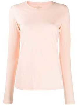Vince Essencial long sleeve top - ORANGE