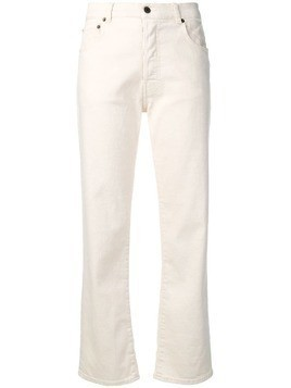 6397 simple classic jeans - White