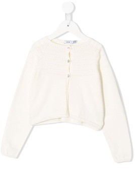 Knot Carrie knitted cardigan - Neutrals