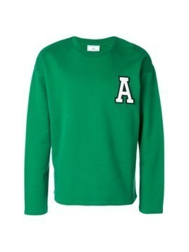 Ami Alexandre Mattiussi A Patch Sweatshirt - Green