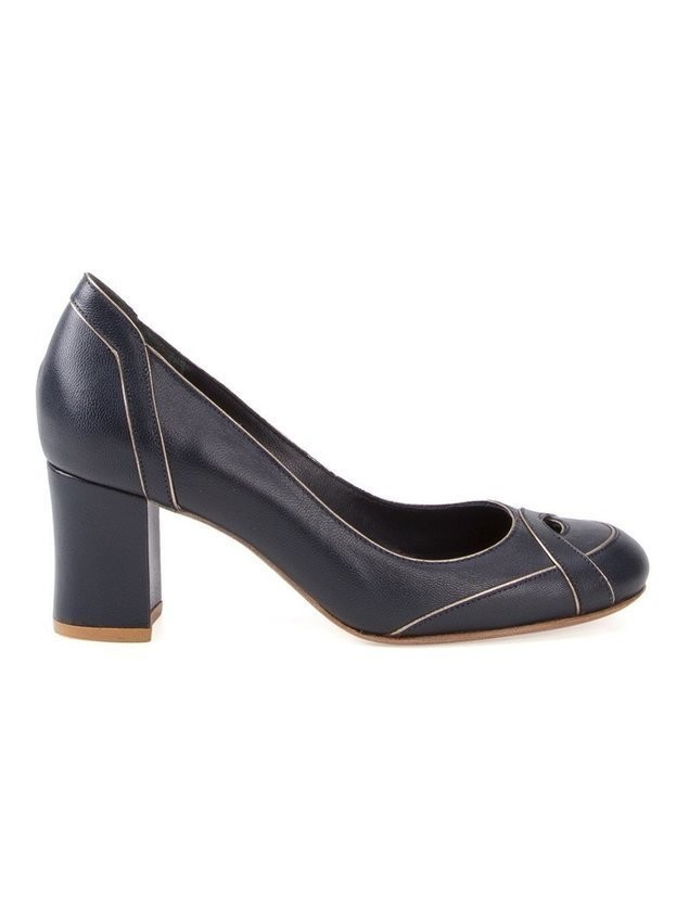 Sarah Chofakian leather pumps - PURPLE