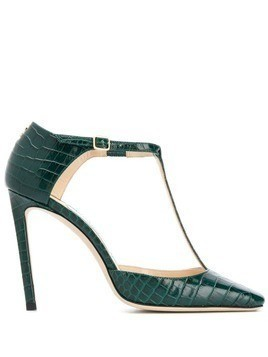 Jimmy Choo Lexica 100 pumps - Green