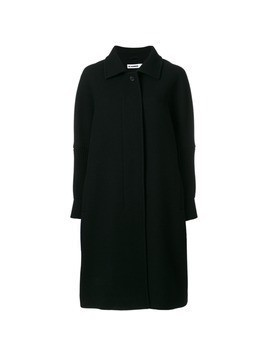 Jil Sander oversized coat - Black