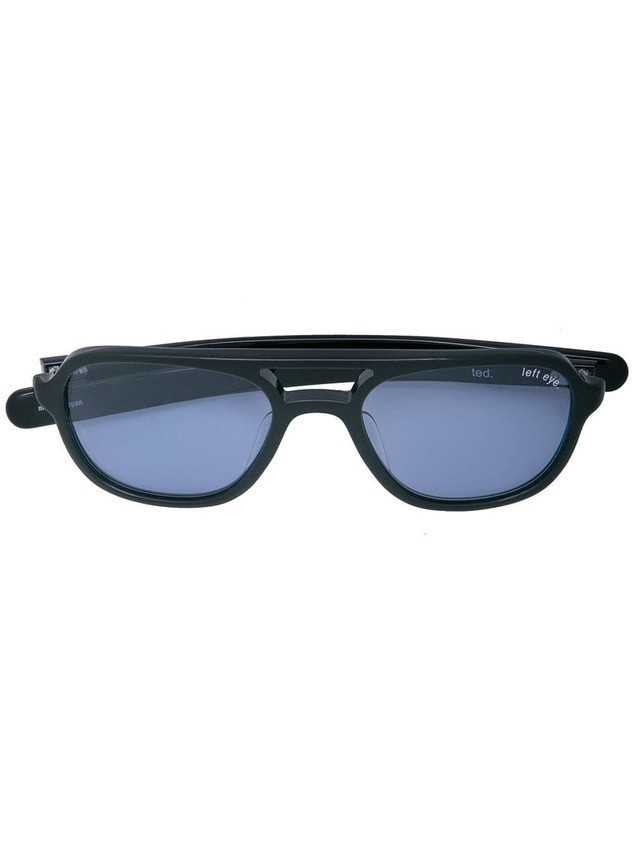 Takahiromiyashita The Soloist aviator shaped sunglasses - Black