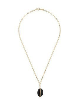 Isabel Marant stone pendant necklace - Gold