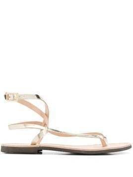 P.A.R.O.S.H. Ecly strappy sandals - GOLD