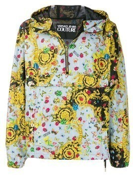 Versace Jeans Couture windbreaker jacket - Yellow