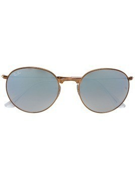 Ray-Ban round framed sunglasses - Metallic