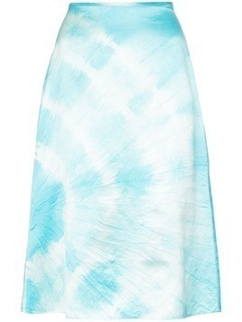 Ashley Williams tie-dye skirt - Blue