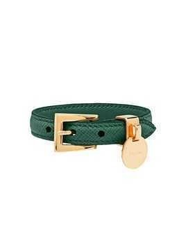 Prada Saffiano leather bracelet - Green