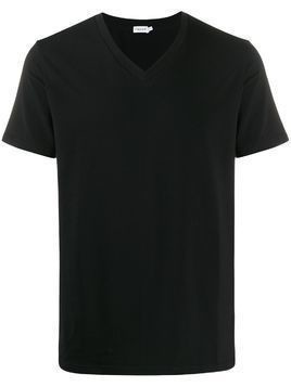 Filippa-K Lycra v-neck T-shirt - Black