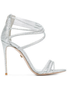 Le Silla glitter strappy sandals - Grey