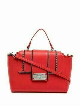 John Richmond Whaltam zipper detail tote - Red