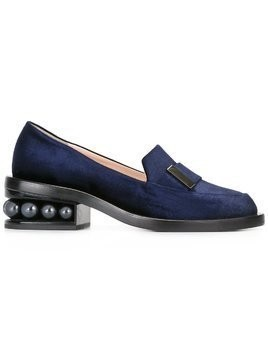 Nicholas Kirkwood 35mm Casati Pearl moccasin loafers - Blue
