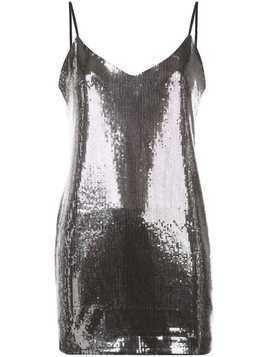 RtA Bijoux mini dress - Silver