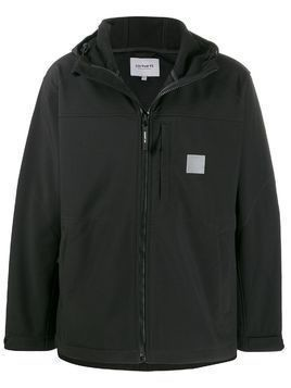 Carhartt WIP hooded coat - Black