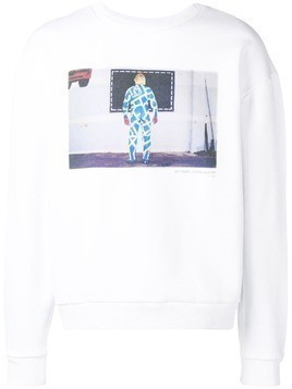Ex Infinitas Hawley sweater - White