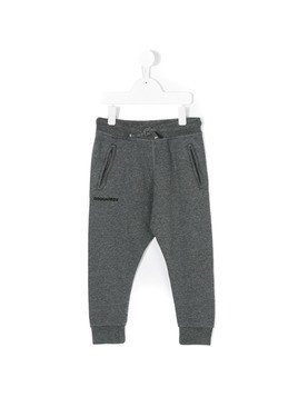 Dsquared2 Kids logo track pants - Grey