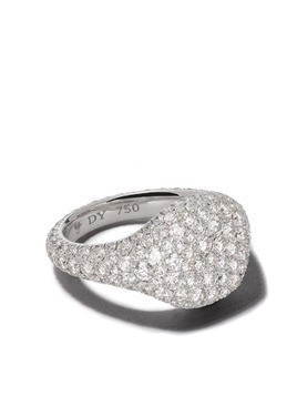 David Yurman signature mini pinky mosaic ring - 8WADI