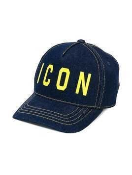 Dsquared2 Kids Icon slogan cap - Blue