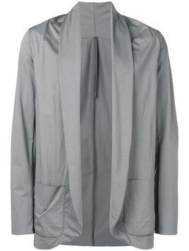 Attachment draped lightweight jacket - Grey