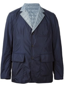 Moncler reversible padded jacket - Blue