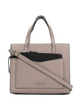 Karl Lagerfeld K/Pocket small tote bag - Grey