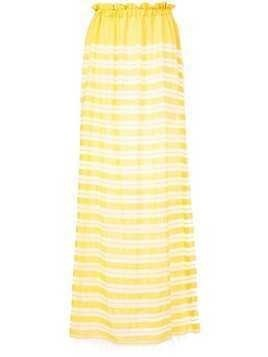 Lemlem Doro striped dress - Yellow