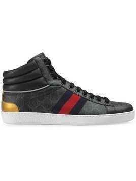 Gucci Ace GG high-top sneaker - Black