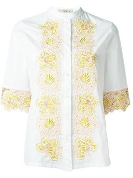 Etro embroidered shirt - White