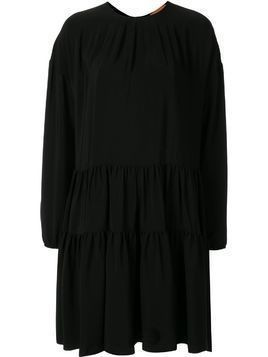 Nº21 flared zip-up dress - Black